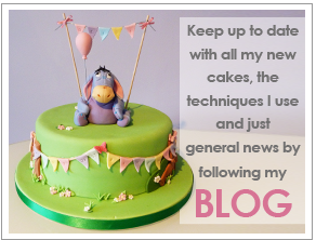 Follow my cake blog for the latest tutorials and updates