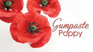 How to make a gumpaste poppy tutorial