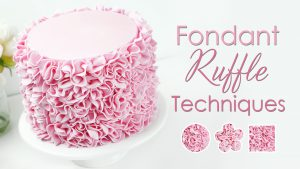 How to make cake ruffles
