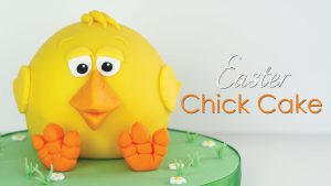 How to make an Easter Chick Cake
