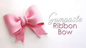 Gumpaste Ribbon Bow