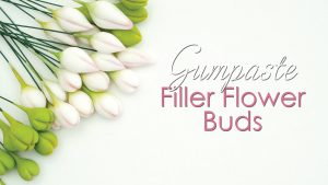 Gumpaste Flower Filler Buds