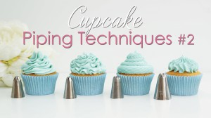 Buttercream piping techniques