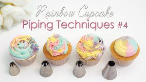 pipping cupcake techniques