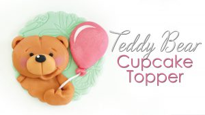 How to make a teddy bear cupcake