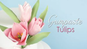 Gumpaste Tulip Flower Tutorial