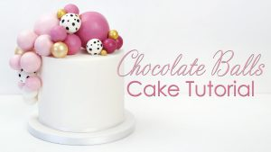 chocolate balls balloon sphere Cake Tutorial-thumb