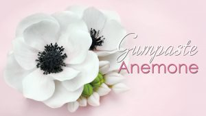 how to make a gumpaste anemone