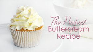 Perfect buttercream recipe