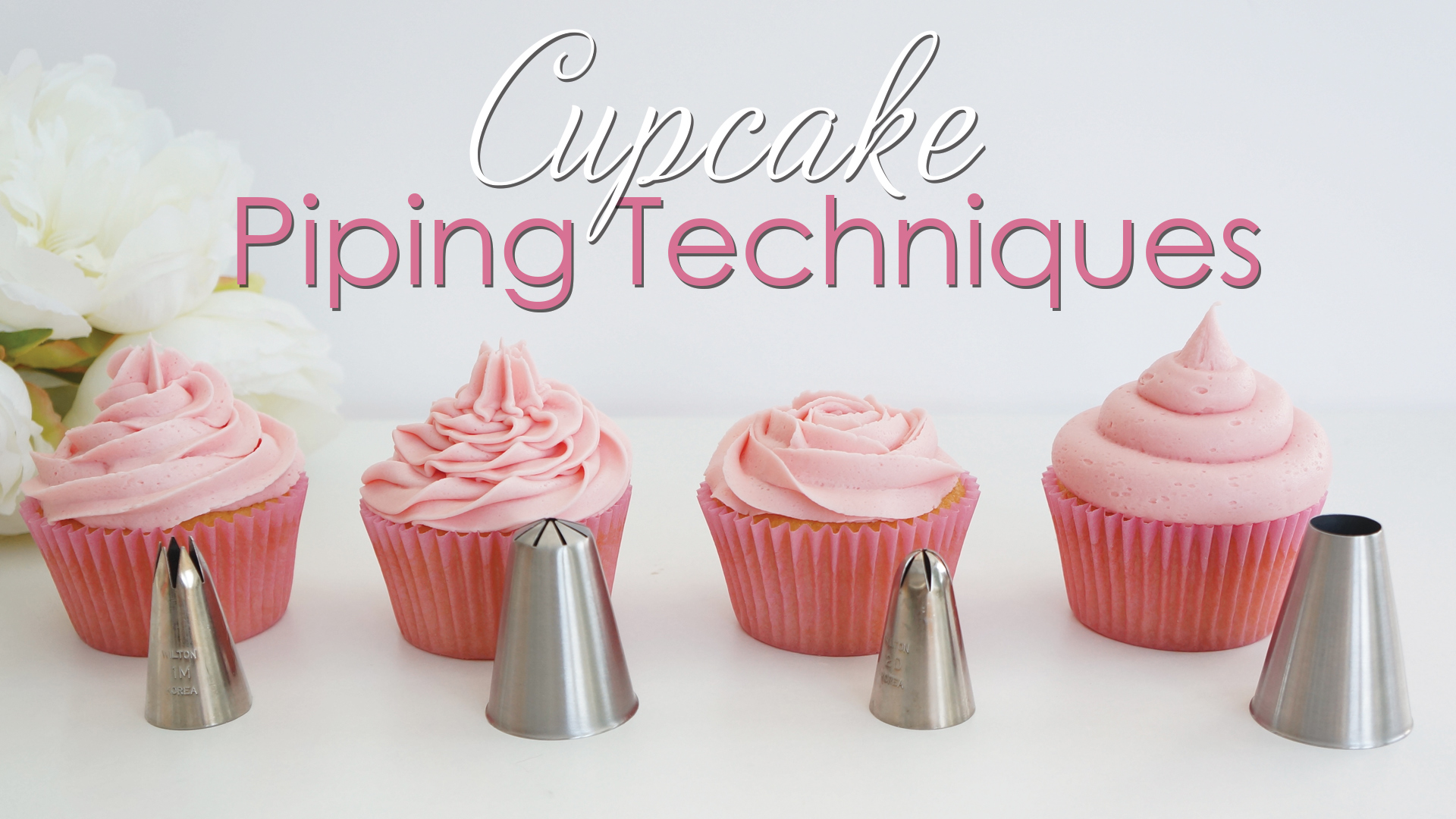 Various Types Of Cake Icing