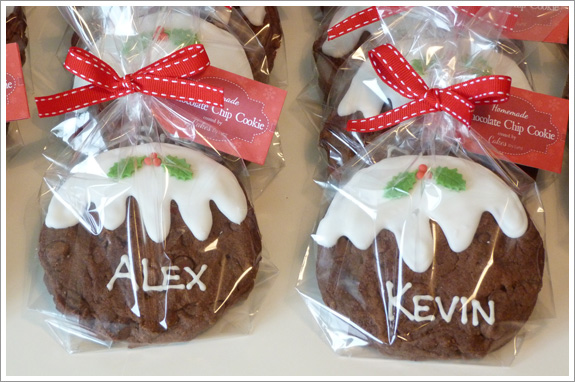 Christmas Pudding Cookies Cakes By Lynz