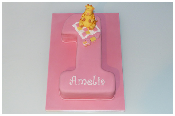 number 1 birthday cake template - number 1 giraffe cake cakes by lynz