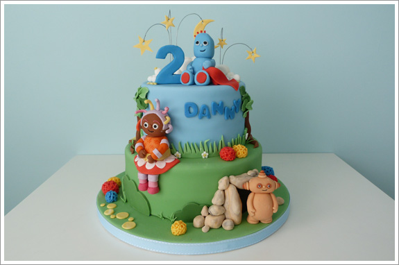 In the Night Garden Cake – Cakes by Lynz