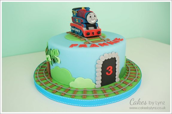 Thomas The Tank Engine Edible Cake Decoration