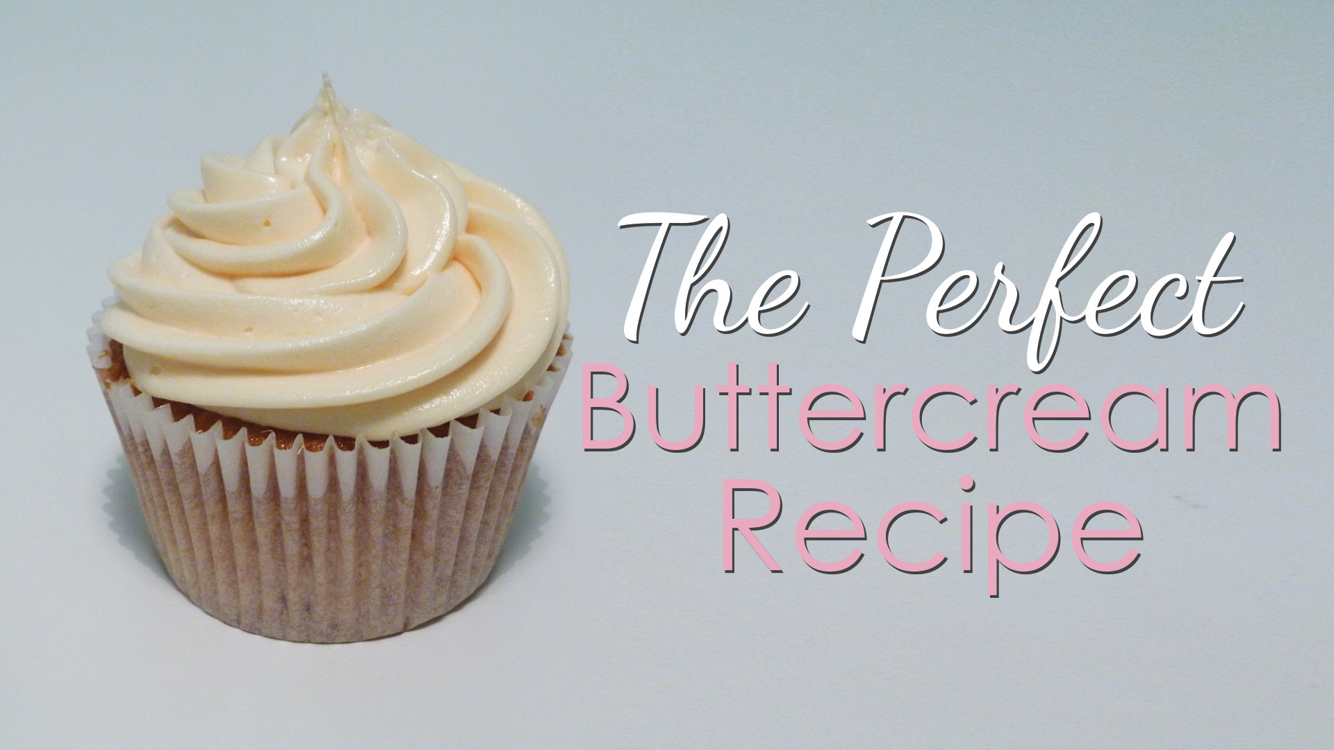 Click to view my perfect buttercream recipe