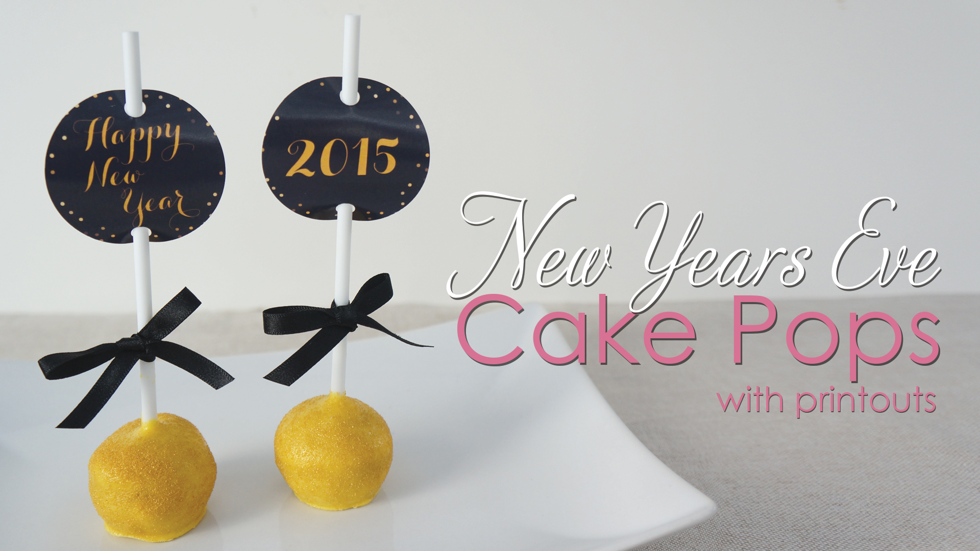 Click to view my cake pops tutorial