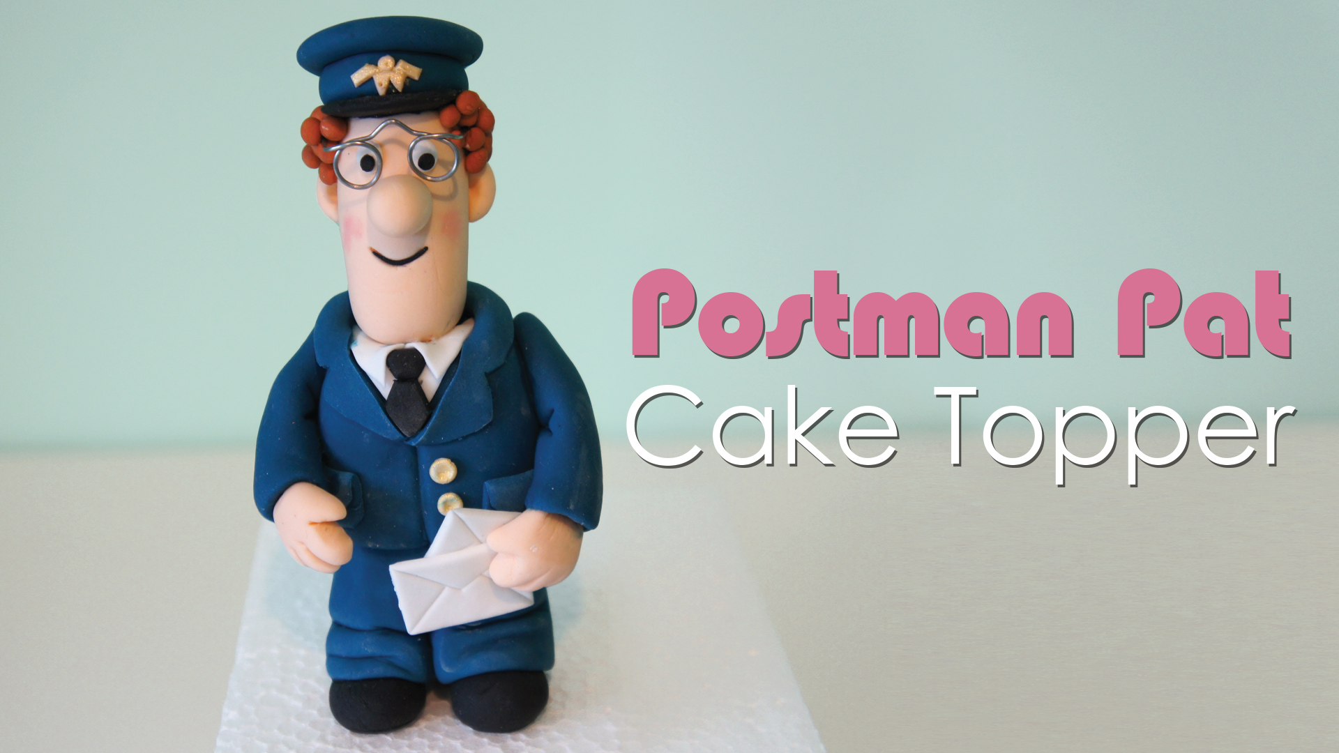 Click to view my Postman Pat cake topper tutorial