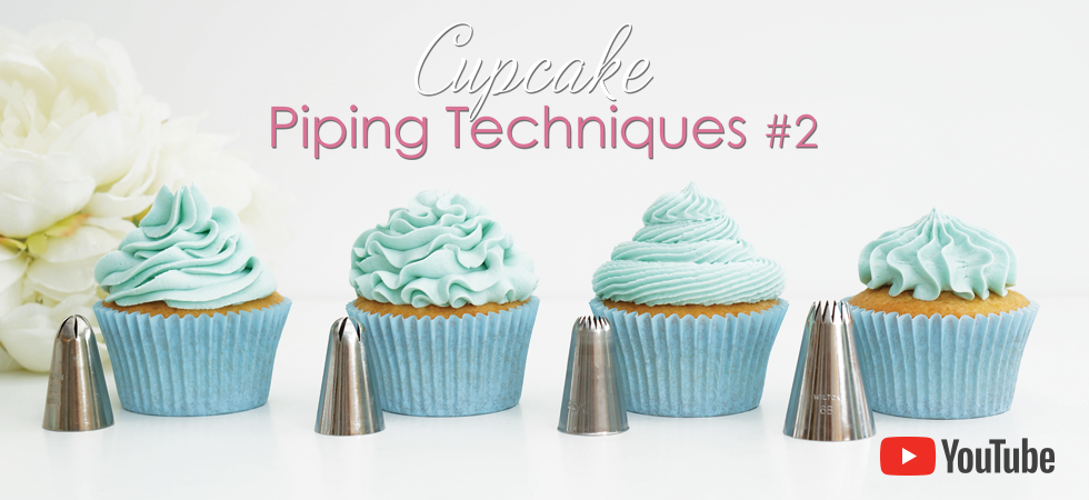 Cupcake piping Techniques