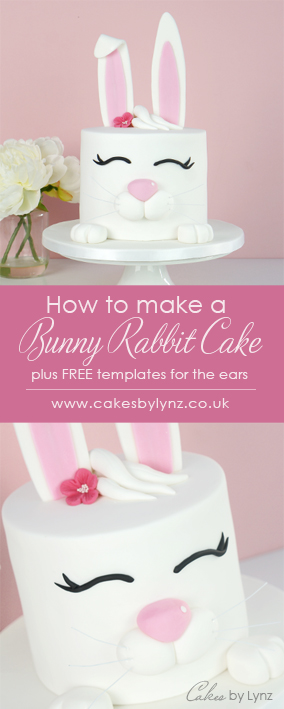 bunny rabbit cake tutorial