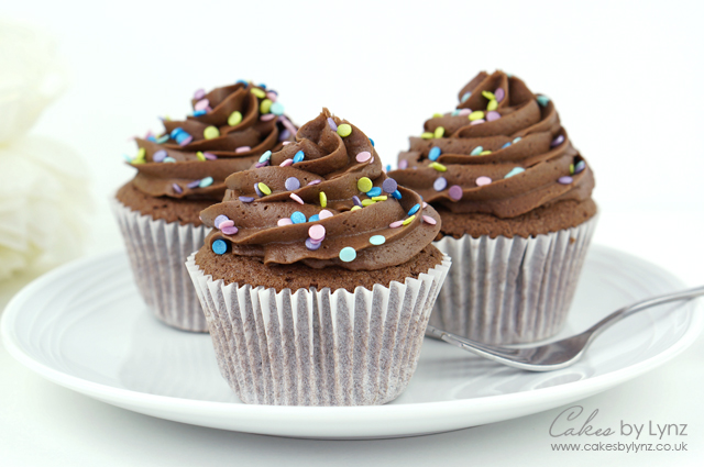 Chocolate Cupcakes Chocolate Buttercream Recipe Cakes By Lynz