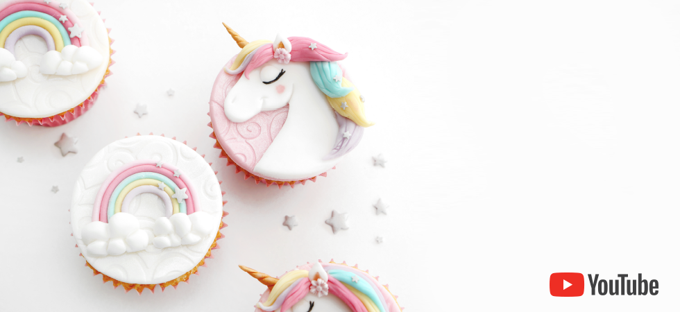 Unicorn Cupcakes tutorial