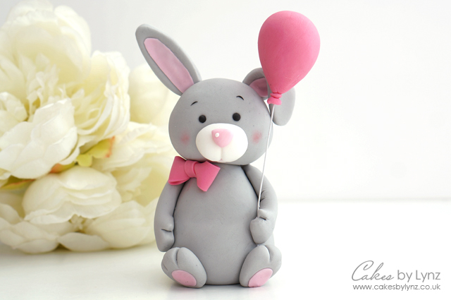 Bunny Rabbit Cake Topper Tutorial – Cakes by Lynz