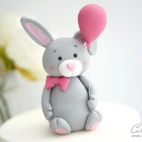 Bunny rabbit Cake Topper