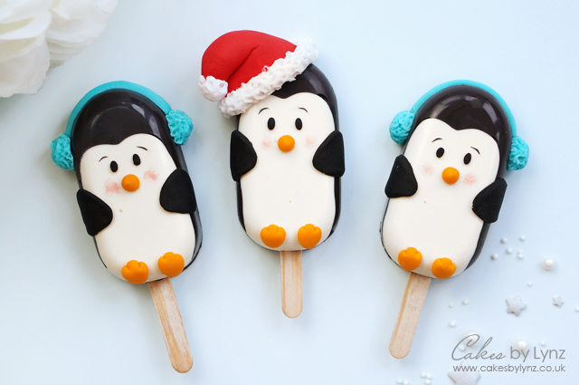 Penguin cakesicles Tutorial