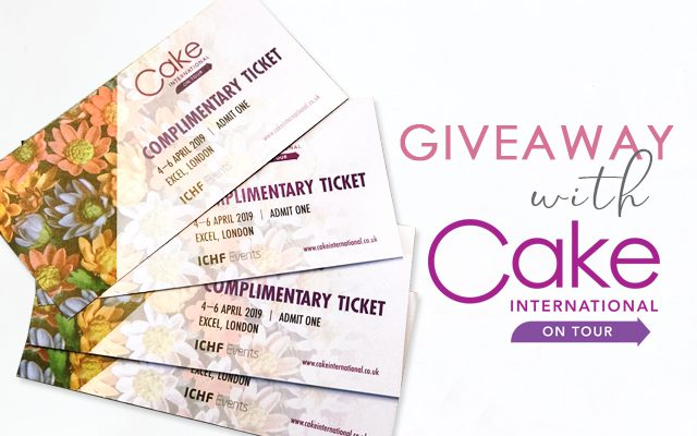 Giveaway - Cake International