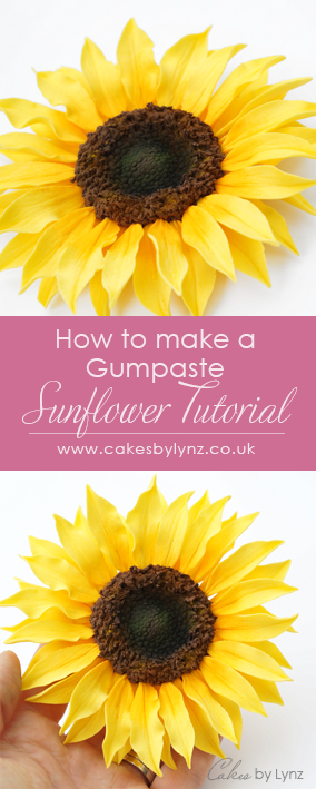 Gumpaste Sugar Sunflower tutorial
