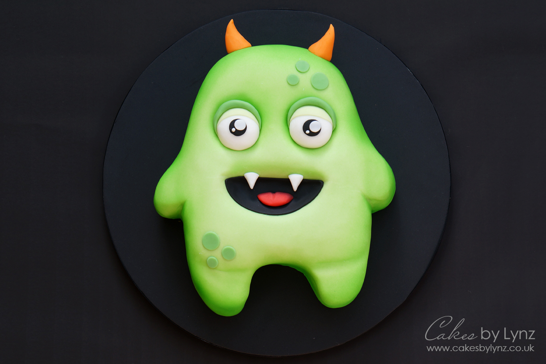 Monster cake tutorial