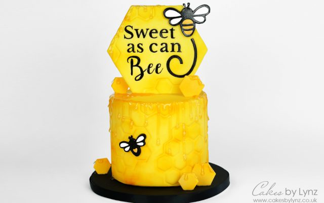 Bumble Bee Cake tutorial