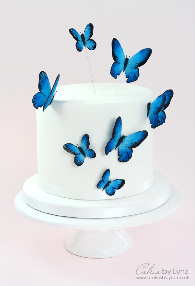 Gumpaste Butterfly Tutorial