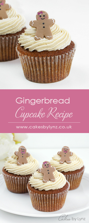 Gingerbread cupcake & gingerbread buttercream recipe