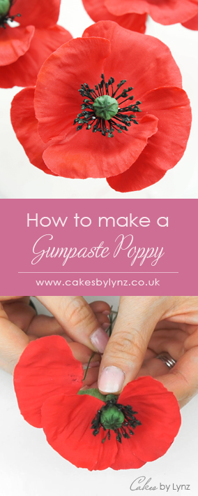 How to make gumpaste poppies