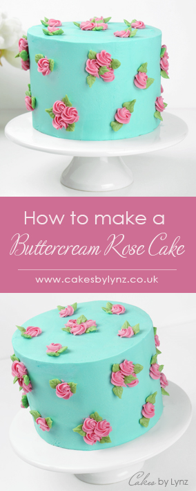 How to pipe Buttercream Roses Tutorial
