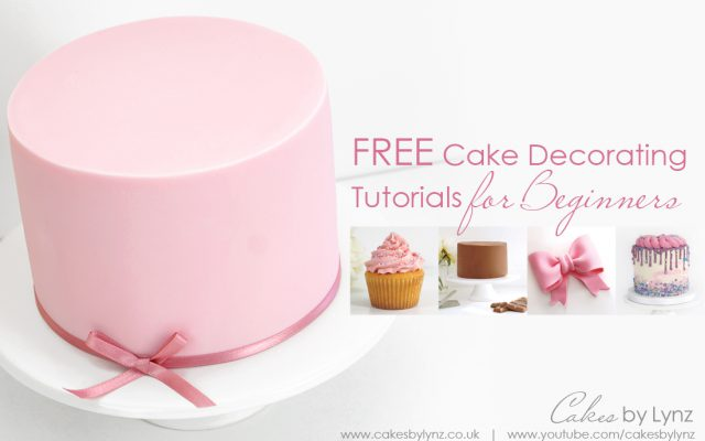 Free Cake decorating tutorials for beginners