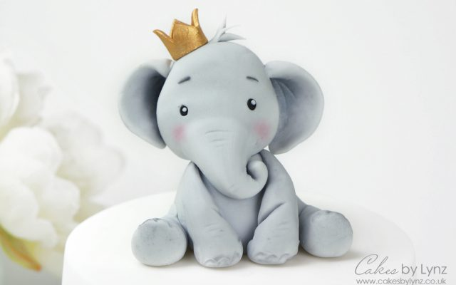 Elephant cake Topper Tutorial
