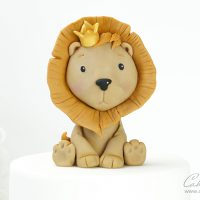 Cute lion Cake topper Tutorial