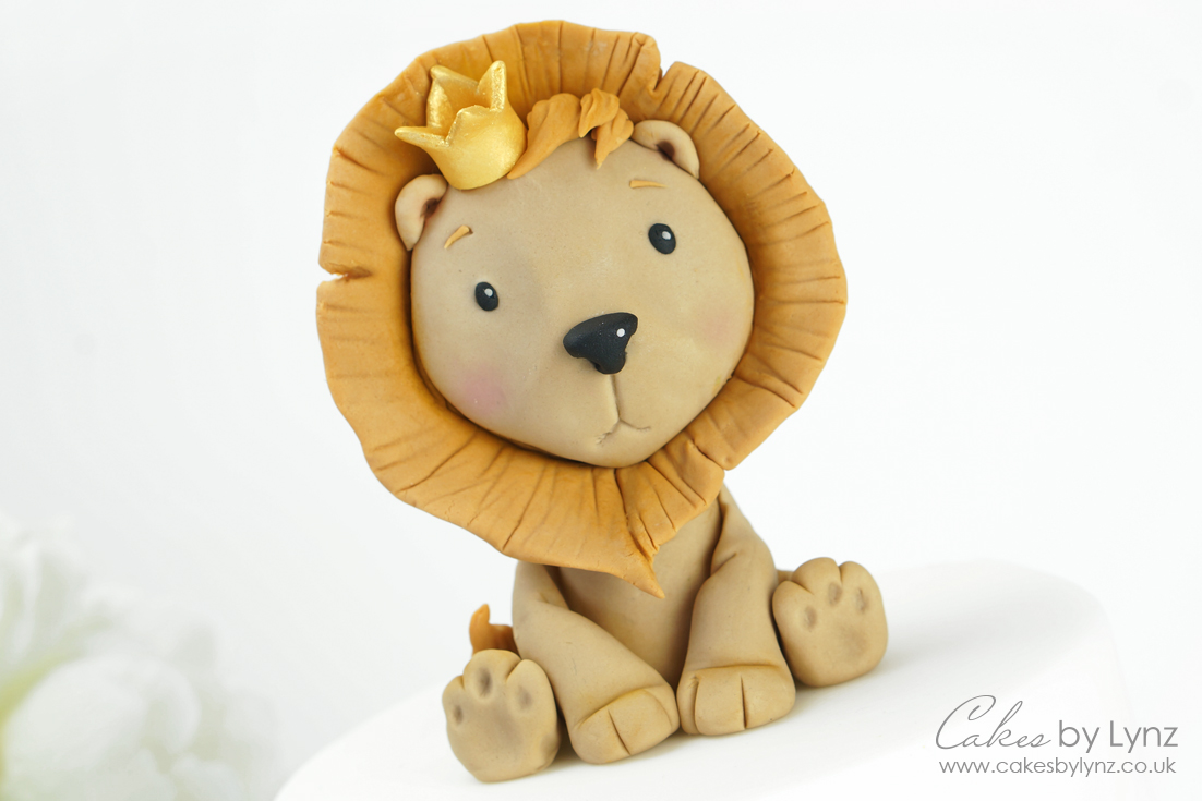 Free lion Cake topper tutorial