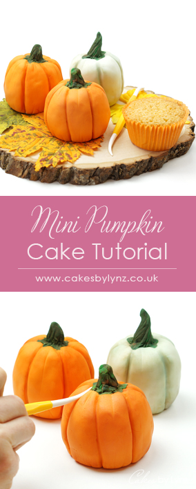 mini pumpkin cupcakes tutorial
