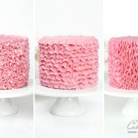 Buttercream Ruffle Cake Techniques tutorial