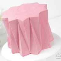 Origami cake decorating tutorial