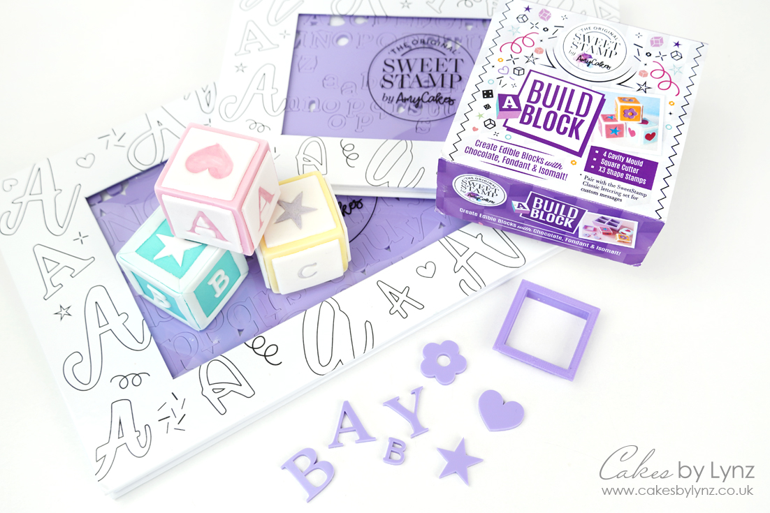 Sweetstamp build a block mould and letter sets