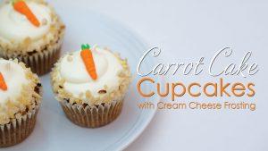 Carrot cake cupcake recipe