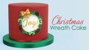 Christmas Wreath Cake Tutorial