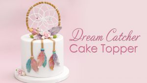 dream catcher cake topper tutorial