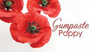 How to make a gumpaste poppy tutorial