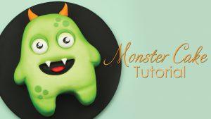 Halloween monster cake tutorial