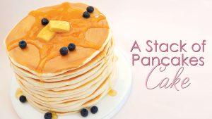 Stack of pancakes tutorial